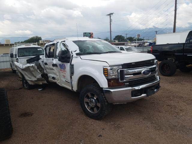 Salvage cars for sale from Copart Colorado Springs, CO: 2019 Ford F350 Super