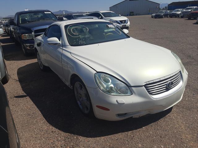 Salvage cars for sale from Copart Phoenix, AZ: 2004 Lexus SC 430