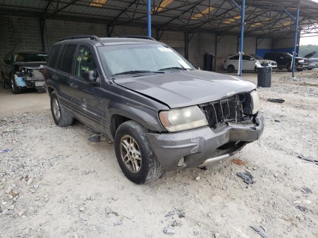 Vehiculos salvage en venta de Copart Cartersville, GA: 2004 Jeep Grand Cherokee