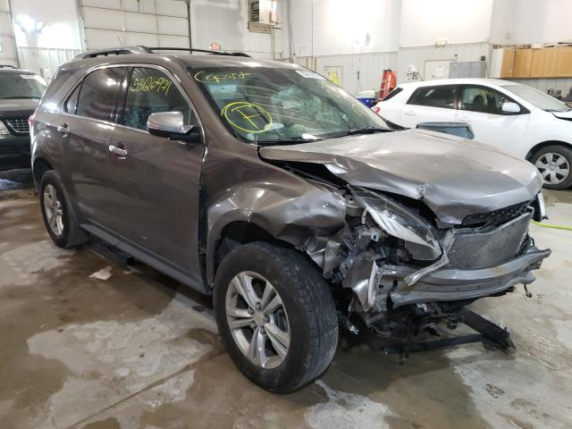 Salvage cars for sale from Copart Columbia, MO: 2012 Chevrolet Equinox LT