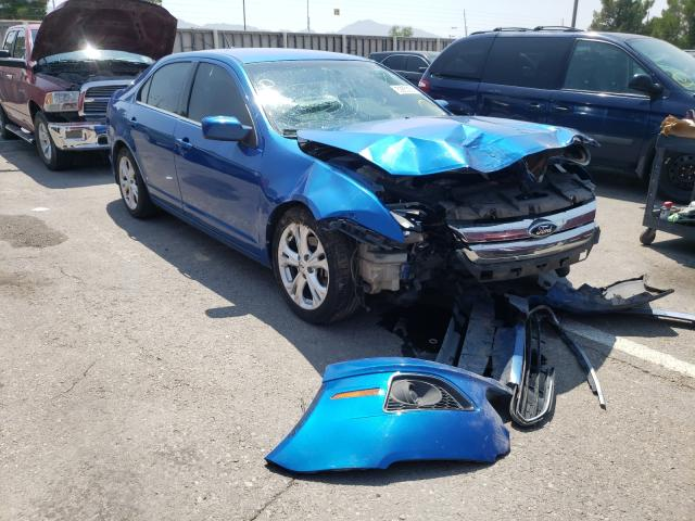 Salvage cars for sale from Copart Anthony, TX: 2012 Ford Fusion SE