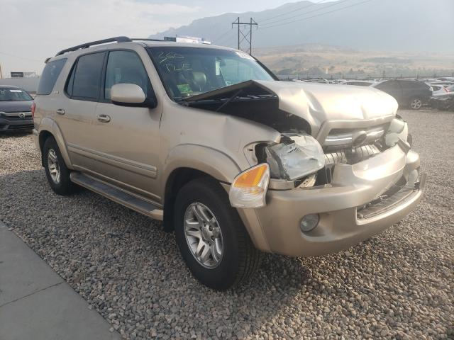 Salvage cars for sale from Copart Farr West, UT: 2006 Toyota Sequoia LI