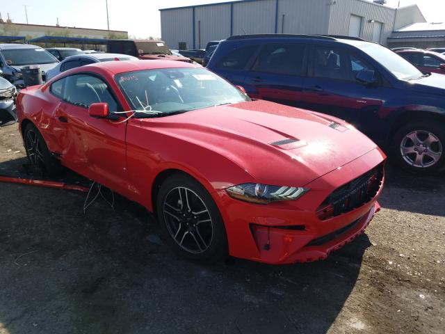 Rental Vehicles for sale at auction: 2021 Ford Mustang