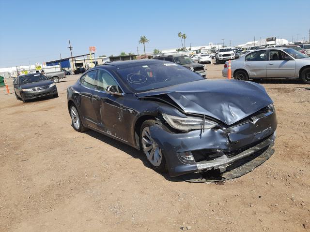 Salvage cars for sale from Copart Phoenix, AZ: 2017 Tesla Model S