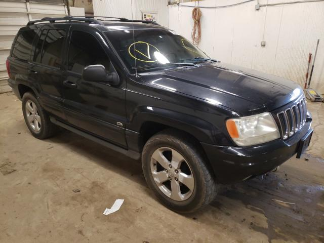 Salvage cars for sale from Copart Casper, WY: 2003 Jeep Grand Cherokee