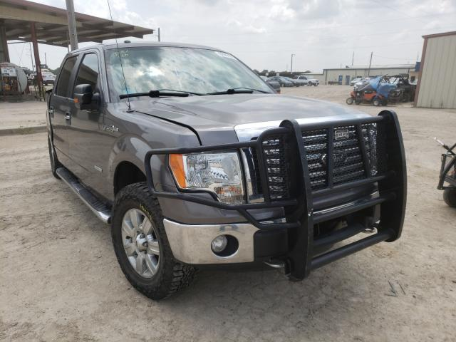 Salvage cars for sale from Copart Temple, TX: 2012 Ford F150 Super