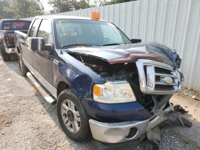 Salvage trucks for sale at Greenwell Springs, LA auction: 2007 Ford F150