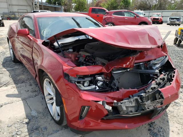 Salvage cars for sale from Copart Corpus Christi, TX: 2018 Chevrolet Camaro LT