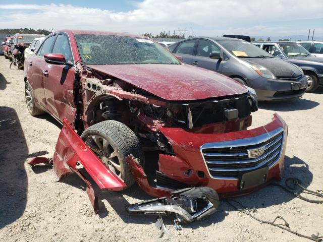 Salvage cars for sale from Copart Anderson, CA: 2016 Cadillac CTS Premium