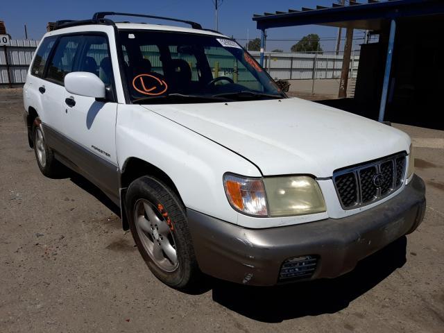 Vehiculos salvage en venta de Copart Fresno, CA: 2002 Subaru Forester S