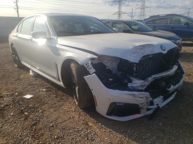 BMW Vehiculos salvage en venta: 2022 BMW 750 XI
