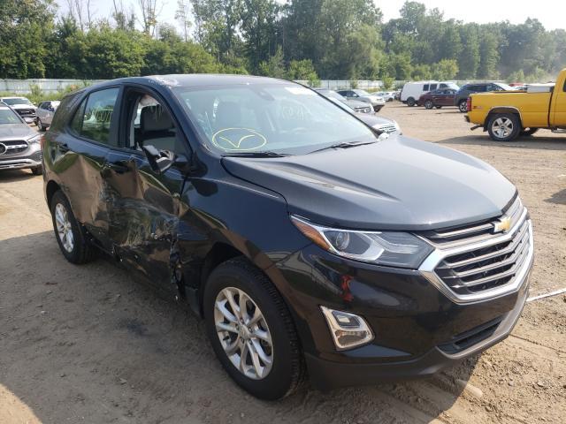 Salvage cars for sale from Copart Davison, MI: 2020 Chevrolet Equinox LS