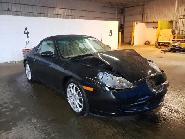 Salvage cars for sale at Candia, NH auction: 2000 Porsche 911 Carrer