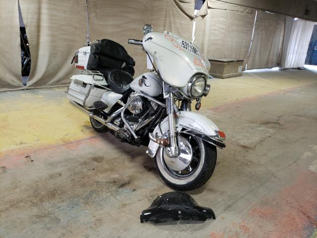 Salvage cars for sale from Copart Indianapolis, IN: 2002 Harley-Davidson Flhtcui