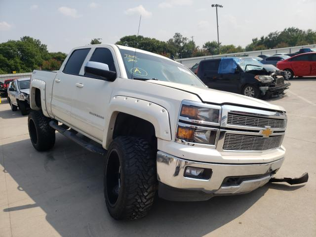 Salvage cars for sale from Copart Wilmer, TX: 2015 Chevrolet Silverado