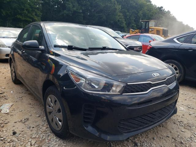 Salvage cars for sale from Copart Austell, GA: 2020 KIA Rio LX