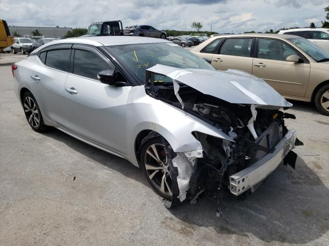 Salvage cars for sale from Copart Orlando, FL: 2017 Nissan Maxima 3.5