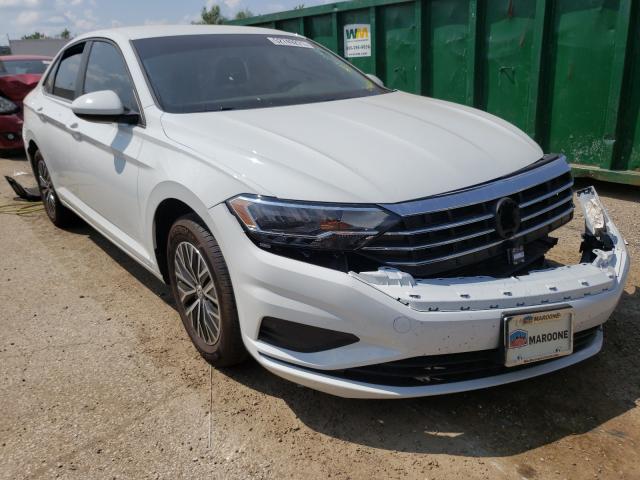 Salvage cars for sale from Copart Pekin, IL: 2021 Volkswagen Jetta S