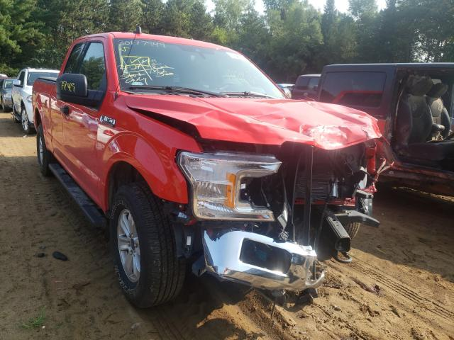 Salvage cars for sale from Copart Ham Lake, MN: 2020 Ford F150 Super