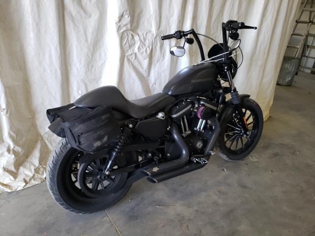 2010 HARLEY-DAVIDSON XL883 N 1HD4LE210AC432940