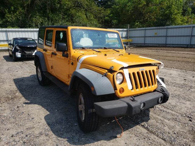 Salvage cars for sale from Copart Glassboro, NJ: 2012 Jeep Wrangler U