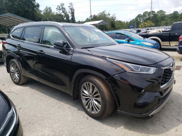 Toyota Highlander salvage cars for sale: 2020 Toyota Highlander