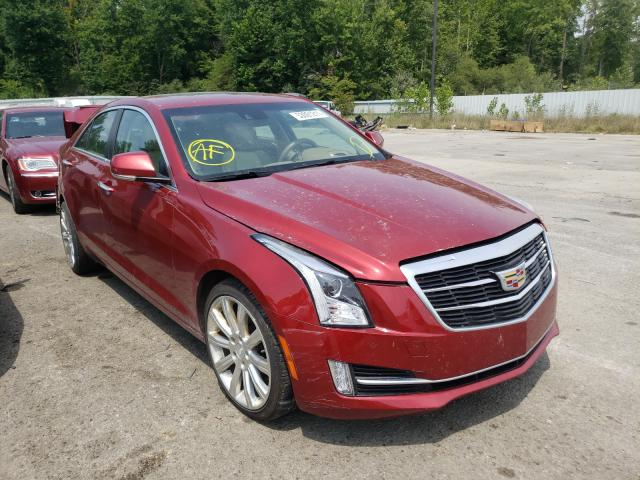 Salvage cars for sale from Copart Louisville, KY: 2015 Cadillac ATS Premium