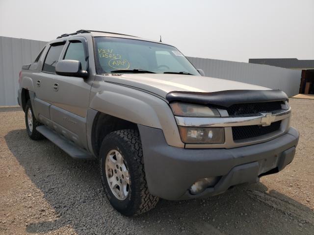 Vehiculos salvage en venta de Copart Bismarck, ND: 2002 Chevrolet Avalanche
