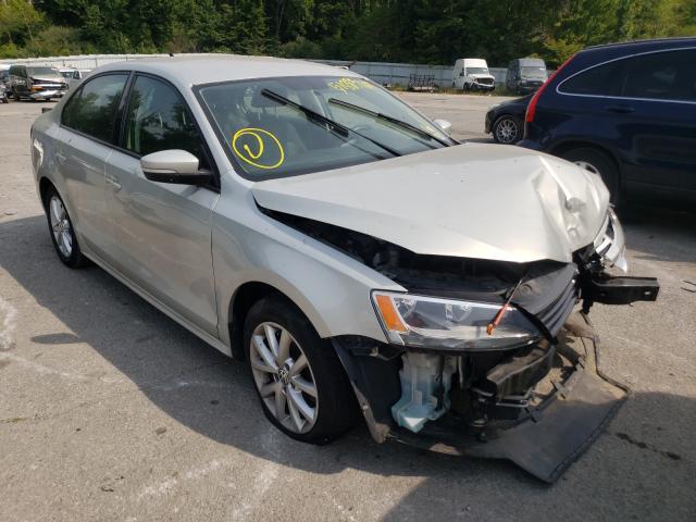 Volkswagen salvage cars for sale: 2011 Volkswagen Jetta SE