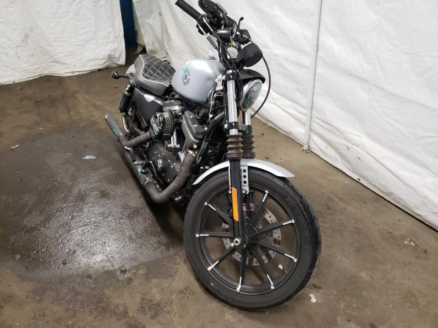Salvage cars for sale from Copart Windsor, NJ: 2020 Harley-Davidson XL883 N