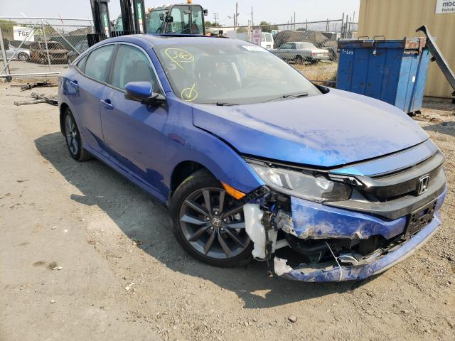 Salvage cars for sale from Copart San Martin, CA: 2021 Honda Civic EX