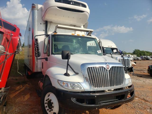 Salvage trucks for sale at Oklahoma City, OK auction: 2018 International 4000 4300