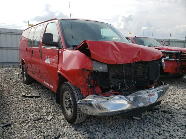 Salvage cars for sale from Copart Appleton, WI: 2014 GMC Savana G35