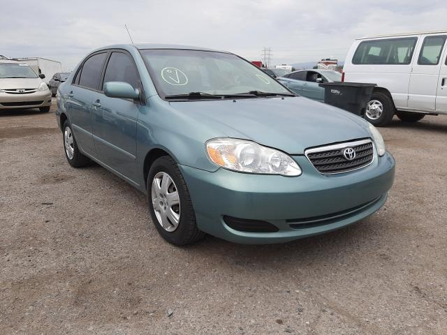 Salvage cars for sale at Tucson, AZ auction: 2006 Toyota Corolla CE