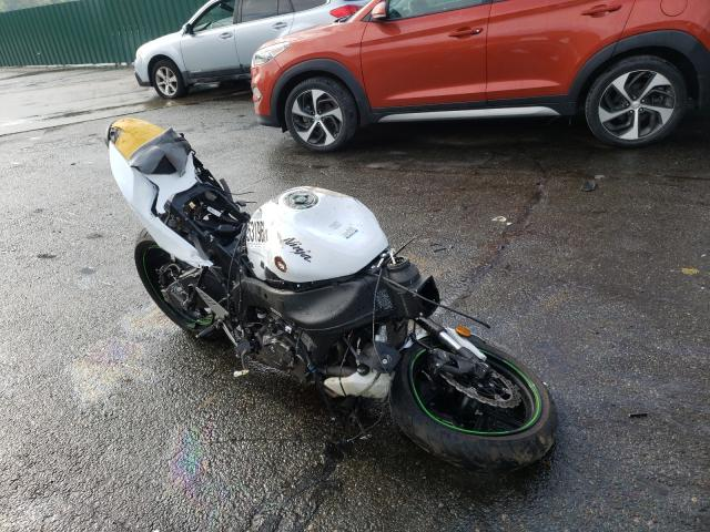 Salvage cars for sale from Copart Exeter, RI: 2017 Kawasaki ZX636 E