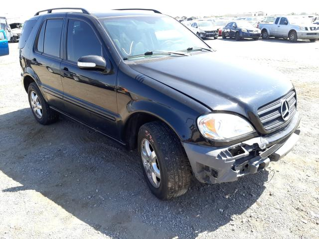 Salvage cars for sale from Copart Las Vegas, NV: 2004 Mercedes-Benz ML 350