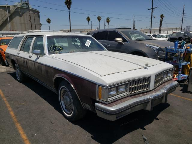 Salvage cars for sale from Copart Wilmington, CA: 1981 Oldsmobile Custom CRU