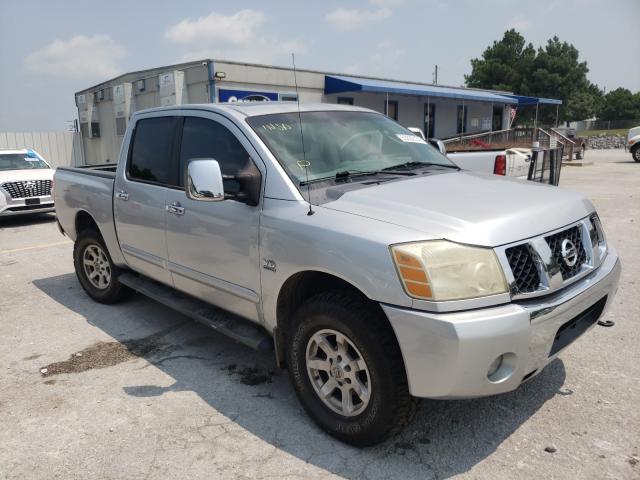 Nissan Titan salvage cars for sale: 2004 Nissan Titan