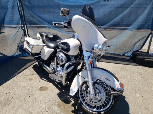 Salvage cars for sale from Copart Vallejo, CA: 2012 Harley-Davidson Flhtc Elec