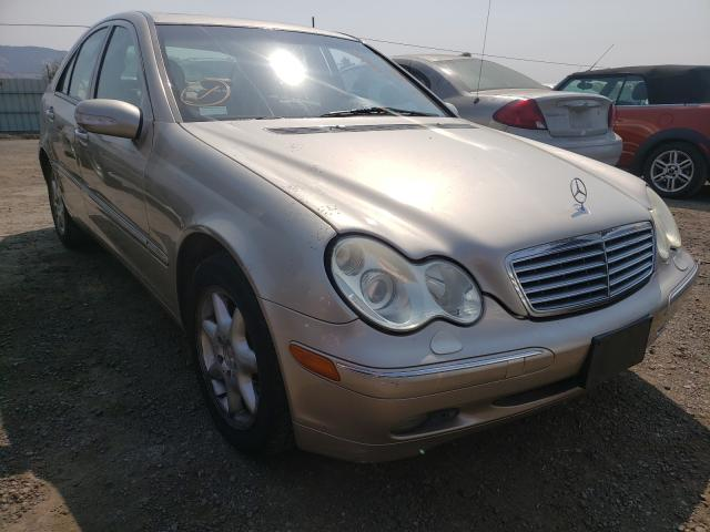 Salvage cars for sale from Copart San Martin, CA: 2001 Mercedes-Benz C 320