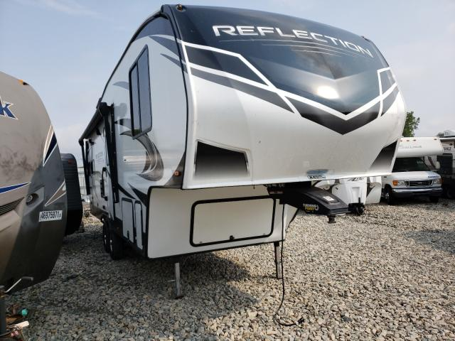 Salvage cars for sale from Copart Appleton, WI: 2019 Refl Travel Trailer