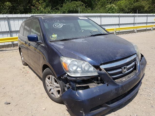 Vehiculos salvage en venta de Copart Glassboro, NJ: 2005 Honda Odyssey EX