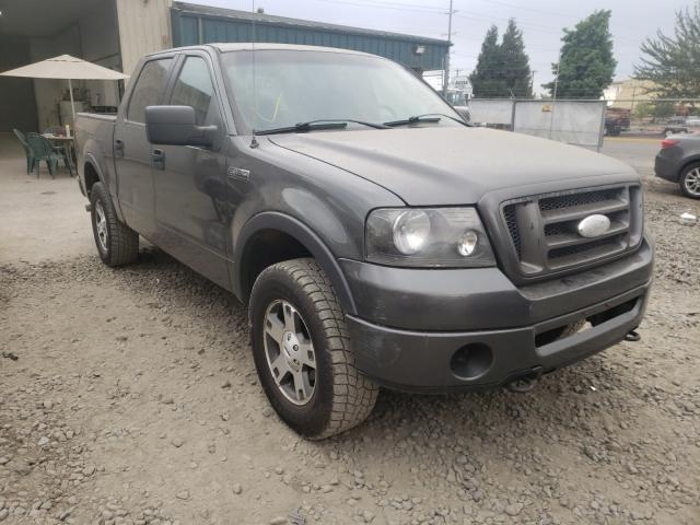 Salvage cars for sale from Copart Eugene, OR: 2006 Ford F150 Super