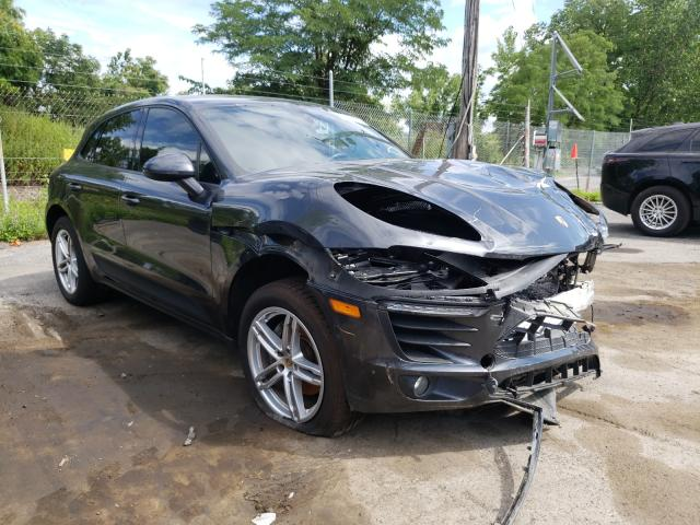 Salvage cars for sale from Copart Marlboro, NY: 2018 Porsche Macan