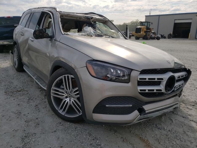 Vehiculos salvage en venta de Copart Spartanburg, SC: 2021 Mercedes-Benz GLS 450 4M