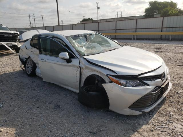 Salvage cars for sale from Copart Haslet, TX: 2020 Toyota Camry XLE