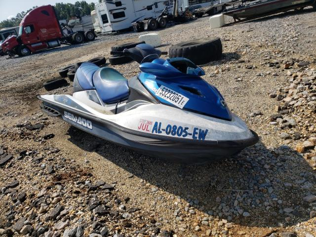 Salvage cars for sale from Copart Montgomery, AL: 2008 Seadoo GTX Limited
