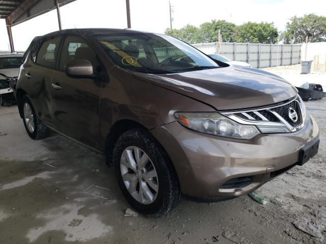 Vehiculos salvage en venta de Copart Homestead, FL: 2012 Nissan Murano S