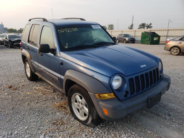 Vehiculos salvage en venta de Copart Des Moines, IA: 2005 Jeep Liberty SP