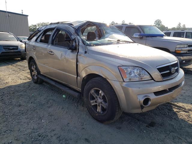Salvage cars for sale from Copart Spartanburg, SC: 2006 KIA Sorento EX